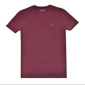 Tommy hilfiger men's classic T-shirt burgundy